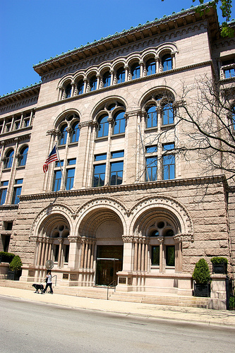 Newberry Library Entrance