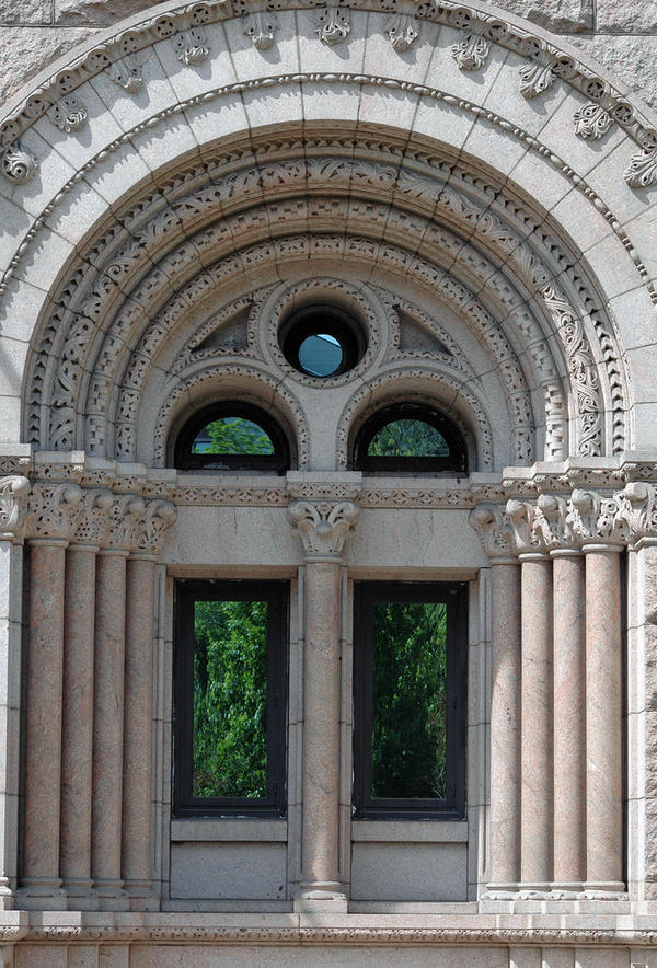 Newberry Library Windows