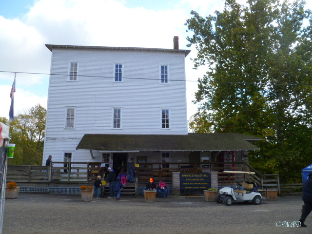 The Mansfield Roller Mill Museum.