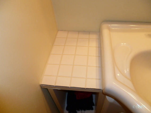 November 26, 2013 Bathroom Tile Job 002