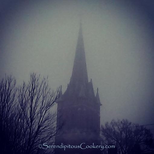 Foggy Tower